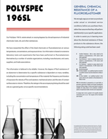 PolySpec 196SL Chemical Resistance Guide